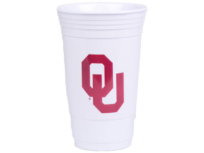Oklahoma Sooners 16oz Plastic Double Wall Cup