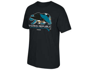 San Jose Sharks Reebok NHL Men's Sharks Republic T-Shirt