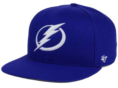 Tampa Bay Lightning '47 NHL No Shot '47 CAPTAIN Snapback Cap