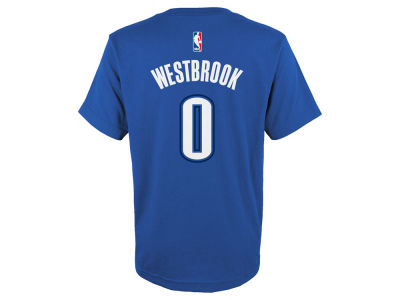 Oklahoma City Thunder Russel Westbrook NBA Kids Name And Number T-Shirt
