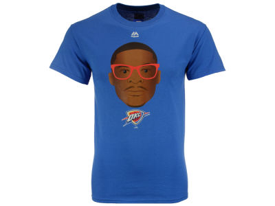 Oklahoma City Thunder Russell Westbrook Majestic NBA Men's Emoji T-Shirt