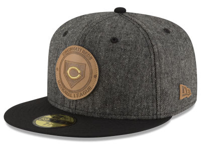 Cincinnati Reds New Era MLB Vintage Tweed 59FIFTY Cap