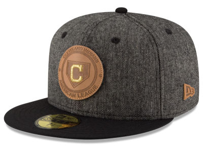 Cleveland Indians New Era MLB Vintage Tweed 59FIFTY Cap