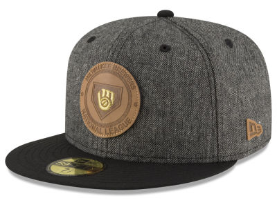 Milwaukee Brewers New Era MLB Vintage Tweed 59FIFTY Cap