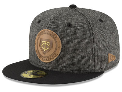 Minnesota Twins New Era MLB Vintage Tweed 59FIFTY Cap
