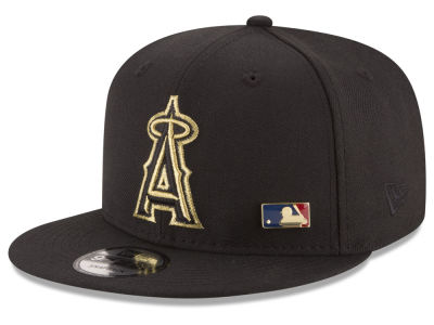 Los Angeles Angels New Era MLB Metal Man 9FIFTY Snapback Cap