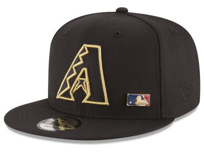 Arizona Diamondbacks New Era MLB Metal Man 9FIFTY Snapback Cap
