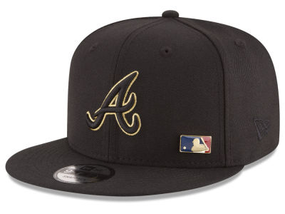 Atlanta Braves New Era MLB Metal Man 9FIFTY Snapback Cap