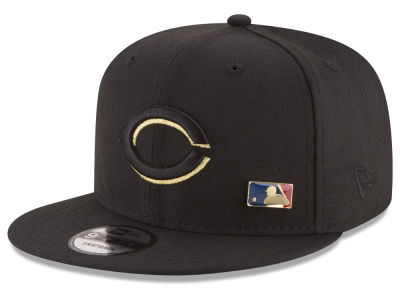 Cincinnati Reds New Era MLB Metal Man 9FIFTY Snapback Cap