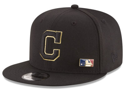 Cleveland Indians New Era MLB Metal Man 9FIFTY Snapback Cap