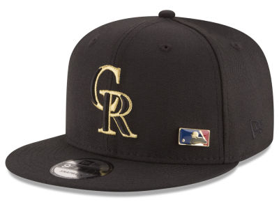 Colorado Rockies New Era MLB Metal Man 9FIFTY Snapback Cap