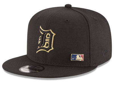 Detroit Tigers New Era MLB Metal Man 9FIFTY Snapback Cap
