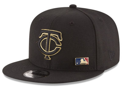 Minnesota Twins New Era MLB Metal Man 9FIFTY Snapback Cap
