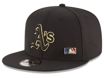 Oakland Athletics New Era MLB Metal Man 9FIFTY Snapback Cap