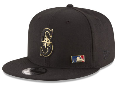 Seattle Mariners New Era MLB Metal Man 9FIFTY Snapback Cap