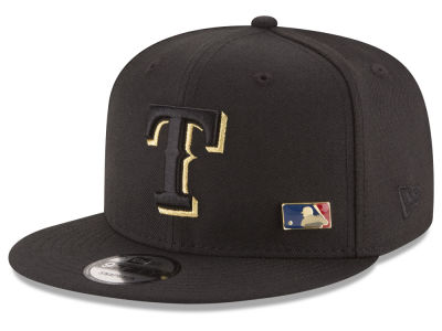 Texas Rangers New Era MLB Metal Man 9FIFTY Snapback Cap