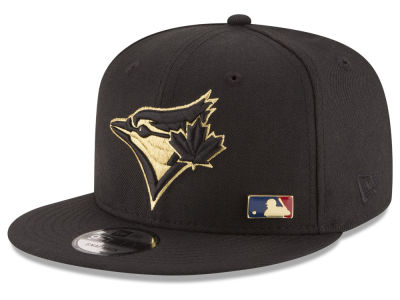 Toronto Blue Jays New Era MLB Metal Man 9FIFTY Snapback Cap