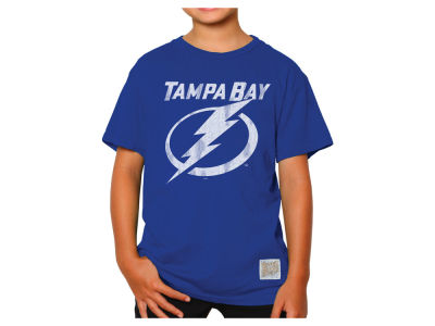 Tampa Bay Lightning NHL Youth Retro Lightning Bolt T-Shirt