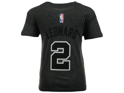 San Antonio Spurs Kawhi Leonard NBA Kids Name And Number T-Shirt