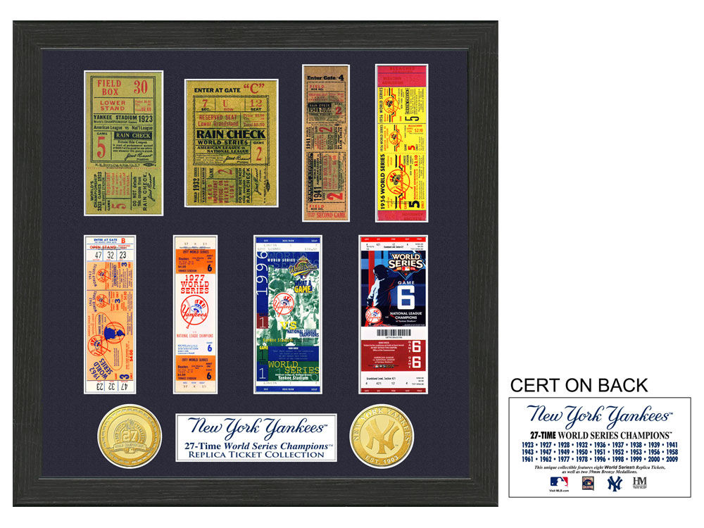 New York Yankees Ticket Frame | lids.com