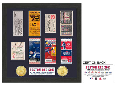 Boston Red Sox Ticket Frame