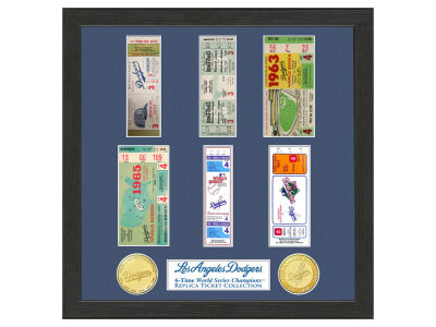 Los Angeles Dodgers Ticket Frame