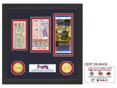 Atlanta Braves Ticket Frame