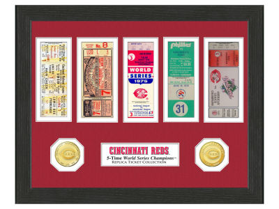 Cincinnati Reds Ticket Frame