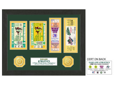 Oakland Athletics Ticket Frame