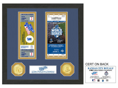 Kansas City Royals Ticket Frame