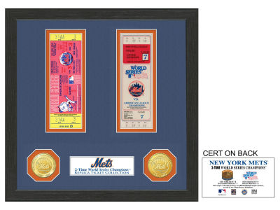 New York Mets Ticket Frame