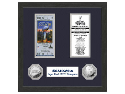 Seattle Seahawks Ticket Frame