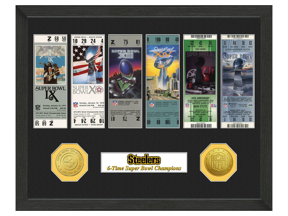 Pittsburgh Steelers Highland Mint Ticket Frame | lids.com