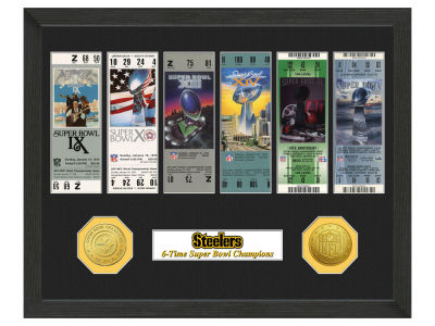Pittsburgh Steelers Ticket Frame