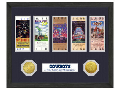 Dallas Cowboys Ticket Frame