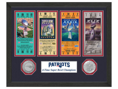 New England Patriots Ticket Frame