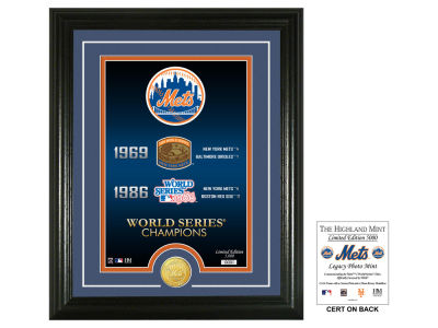 New York Mets 11x17 Legacy Photo Mint