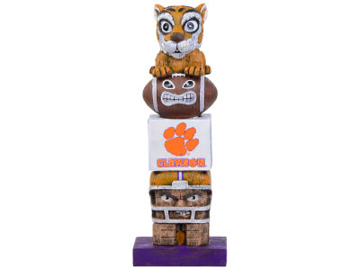 Clemson Tigers Evergreen Enterprises Tiki Totem