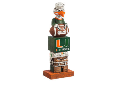 Miami Hurricanes Evergreen Enterprises Tiki Totem