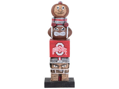 Ohio State Buckeyes Evergreen Enterprises Tiki Totem