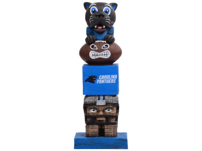 Carolina Panthers Evergreen Enterprises Tiki Totem