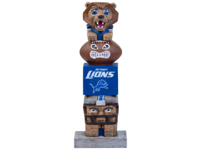 Detroit Lions Evergreen Enterprises Tiki Totem