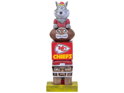 Kansas City Chiefs Evergreen Enterprises Tiki Totem