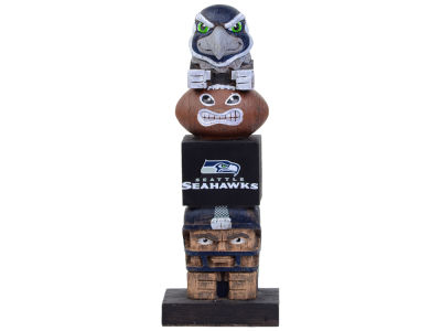 Seattle Seahawks Tiki Totem