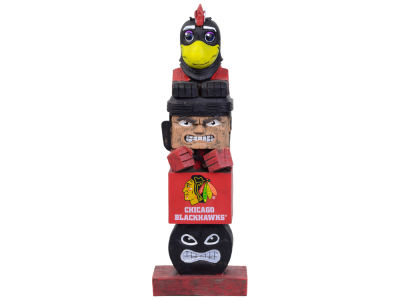 Chicago Blackhawks Evergreen Enterprises Tiki Totem