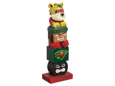 Minnesota Wild Evergreen Enterprises Tiki Totem
