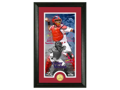 St. Louis Cardinals Yadier Molina Supreme Bronze Coin Photo Mint