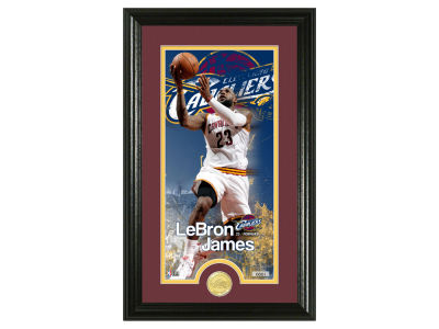 Cleveland Cavaliers LeBron James Supreme Bronze Coin Photo Mint