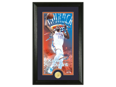 Oklahoma City Thunder Kevin Durant Supreme Bronze Coin Photo Mint