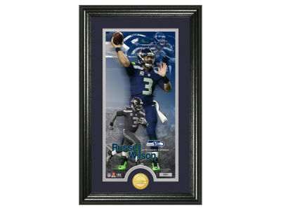 Seattle Seahawks Russell Wilson Supreme Bronze Coin Photo Mint